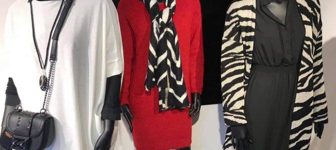 Zebra black white red